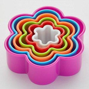 """Набор форм для печенья 6 размеров ТД9-040 """"Цветок"""""""