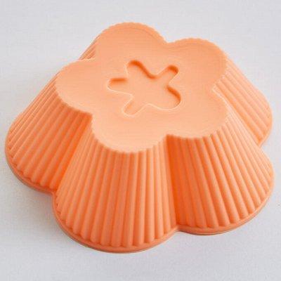 ✔ Дельта- Дискаунтер ✔ Товары для дома   — Наборы формочек для выпечки кексов силиконовые — Для запекания и выпечки