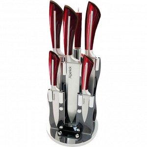 Набор ножей на акриловой подставке 8 предметов AK-2095 + ПОДАРОК