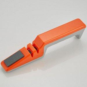 Ножеточка ВЕ-5287 оранжевая с серым