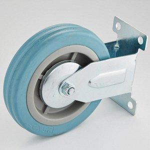 Опора аппаратная фиксированная 125х27х155мм 75 кг ТД11-03/125-75 серая резина