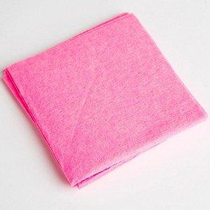 Набор из 3-х универсальных салфеток вискозных 14МР-033 розовый
