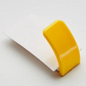 Крючок самоклеящийся 8,5х4см ТД9-017 двухцветный