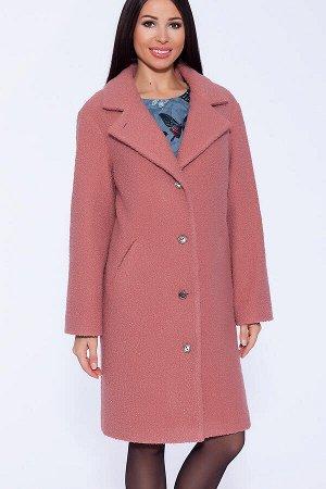 #43449 Пальто Розово-персиковый