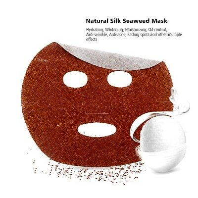 Товары для красоты и здоровья! Новинки пузырьковых масок — Маска из 100% сухих водорослей на тканевой основе