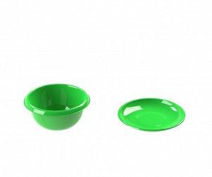 Миска с крышкой-тарелкой 1,3л