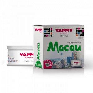 "Ароматизатор меловой сити ""Yammy"" баночка ""MACAU"""