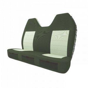 Чехлы CARFORT SuperShell для заднего дивана, водоотт. ткань, зелен., 2 предмета (1/10)