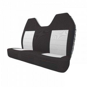 Чехлы CARFORT SuperShell для заднего дивана, водоотт. ткань, черный, 2 предмета (1/10)