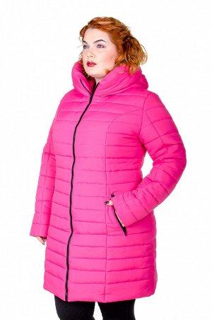 Куртка зимняя Катрина малина