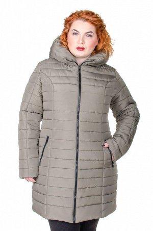 Куртка зимняя Катрина хаки