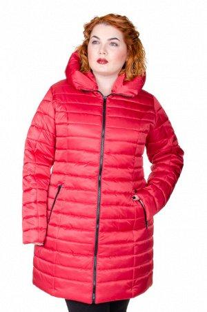 Куртка зимняя Катрина красный