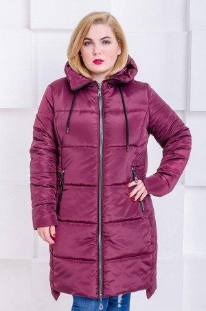 Куртка зимняя Риана марсала