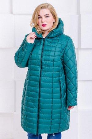 Куртка зимняя Флави изумруд