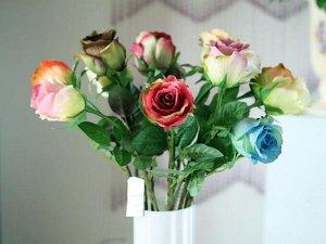 Цветок искусственный роза И2