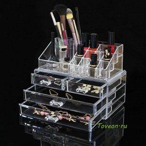 Акриловый органайзер для косметики SF-1155