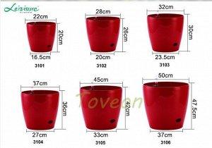 Кашпо LEIZISURE для цветов HG-3102A бирюза
