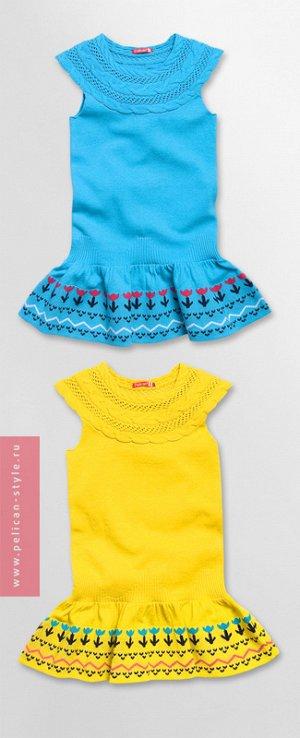 GKDT374/2 платье для девочек