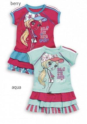 GDT375/1 платье для девочек