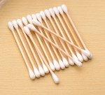 Ватные палочки деревянные