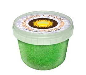"""Лепа Слайм """"СТЕКЛО"""" с зелеными неоновыми блестками 100 гр в банке 00-00001086"""