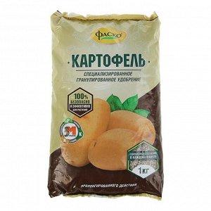 Удобрение минеральное сухое Фаско 5М, тукосмесь, Картофель, 1 кг