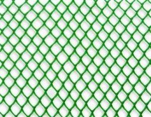 Решетка Садовая Н-0,4м 7*7 дл 10м для ограждения клумб зеленая Ф-7/0,4/10