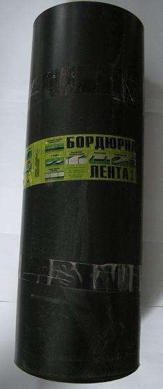 Бордюрная лента 0,60*10м черная