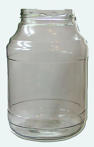 Банка стекло 3000-100 Твист КБ2-В100А-3000мл 1/12  + в подарок набор крышек и насос.