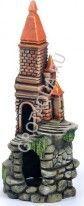 Аквариумистика Замок высокий с башнями К-53