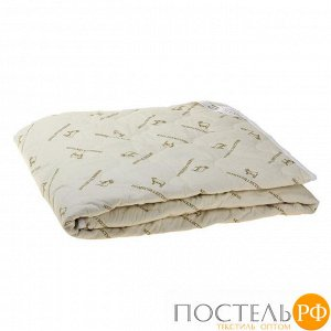 """Одеяло """"Этель"""" Овечья шерсть 110*140 см, тик, 300 гр/м2   771505"""