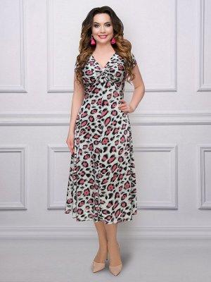 Платье Счастливый случай (леопард)