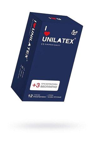 Презервативы Unilatex Extra Strong гладкие №12