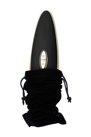 Вибратор Satisfyer Luxury Haute couture, с вакуум-волновым бесконтактным стимулятором, силикон, черн