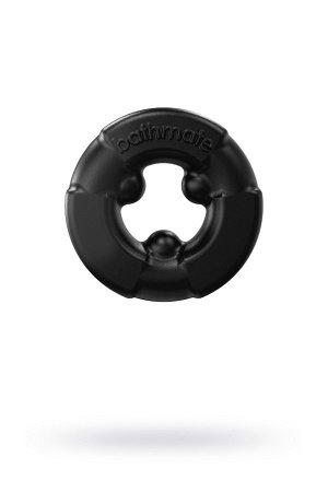 Эрекционное кольцо на пенис Bathmate Gladiator, elastomex, чёрное, ?4,5 см