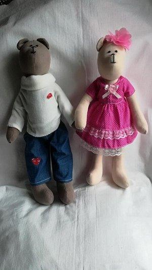 Интерьерная игрушка, кукла, 38 см