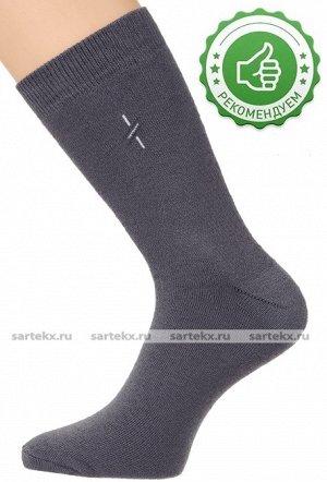 Носки мужские С-16ХН махровые плотные, серый