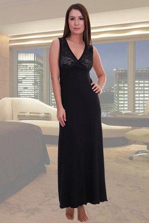 Сорочка черная, 48 размер