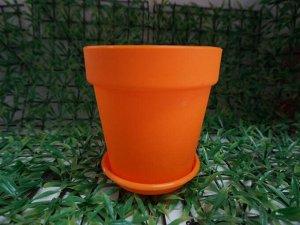 Горшок Классика 3,5л оранж с/п 150 Сим