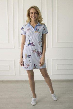 Платье-поло 460 колибри