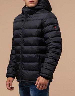 Короткая черная куртка оригинальная модель 45390