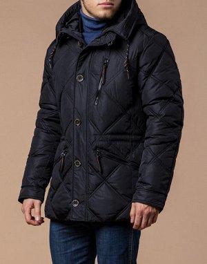 Черная куртка высокого качества модель 12481