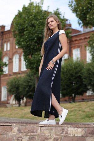Платье Тёмно-синий