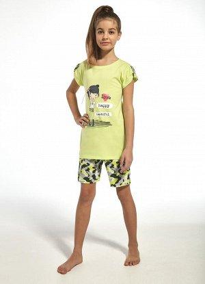 243/244 Пижама для девочек с шортами