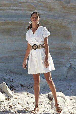 Платье БЕЗ РЕМНЯ СКИДКА!!! 100%Хлопок ПОГ-42см, ПОТ-36,вшита резинка, Длинна изделия-88см