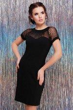 Платье Alexandra PL-1596A черный