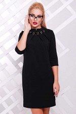 Платье Бусинка PL-1357B черный