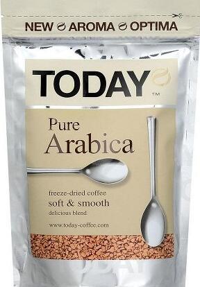 ✔Бакалея ✅ Скидки❗❗❗Огромный выбор❗Выгодные цены🔥 — Кофе Today Pure Arabica  — Растворимый кофе