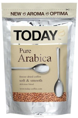 Кофе Today Pure Arabica субл. м/у 150г 1/12, шт
