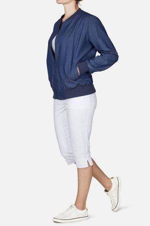 Куртка синий джинс